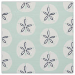 Summer Sand Dollar Cotton Twill Fabric