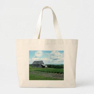 Summer Scene Large Tote Bag