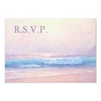 Summer Sea RSVP 3.5 x 5 Card