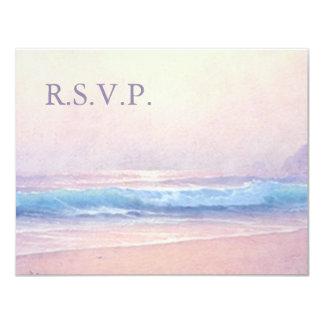 Summer Sea RSVP 4.5x5.25 Card