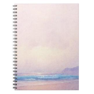 Summer Sea Spiral Notebook