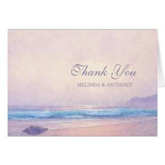 Summer Sea Thank You Card