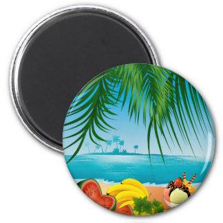 Summer Seaside Magnet