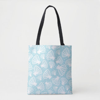 Summer Shell Pattern Tote Bag