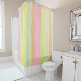 Summer Sherbert Digital Art Shower Curtain