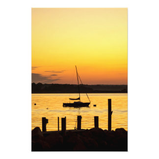 Summer Silhouette Photo Print