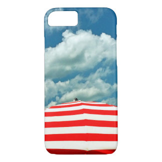 Summer Sky Beach Umbrella Phone Case