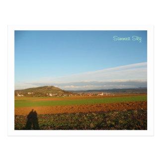 Summer Sky Postcard