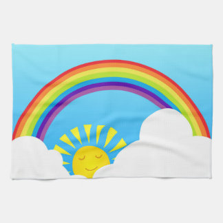 Summer sky towel