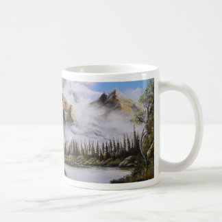 Summer Solitude Oil painting by David Paul Coffee Mug
