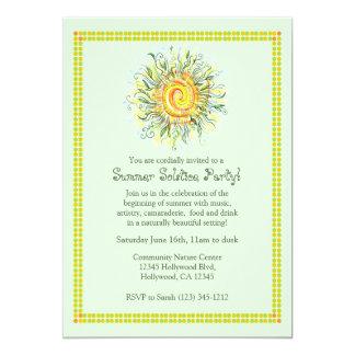 Summer Solstice Party Invitation