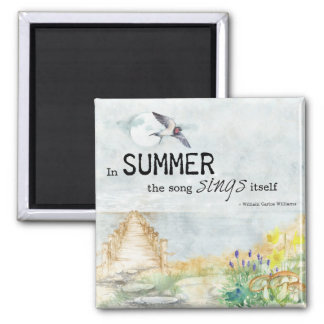 Summer Song 2 Inch Magnet