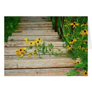 Summer Stairway ~ Greeting Card