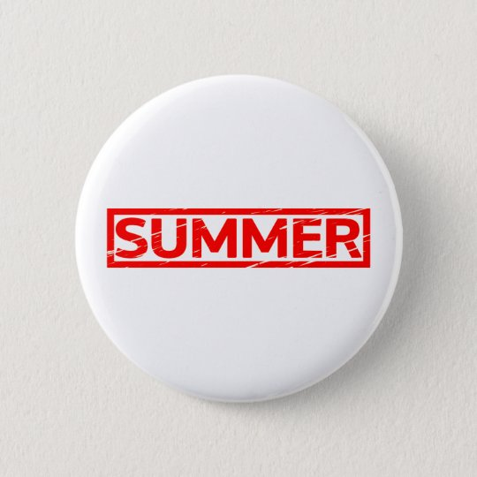 Summer Stamp 2 Inch Round Button