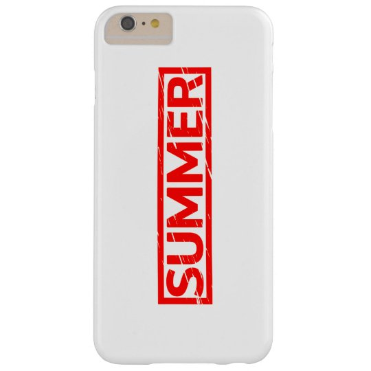Summer Stamp Barely There iPhone 6 Plus Case