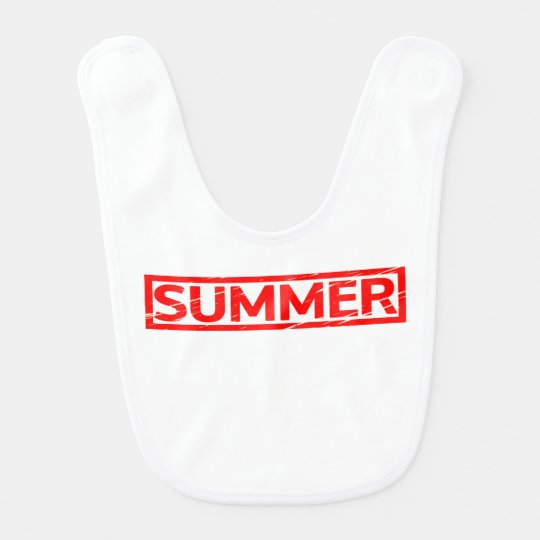 Summer Stamp Bib