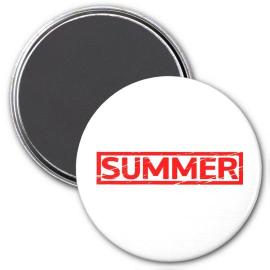 Summer Stamp Magnet