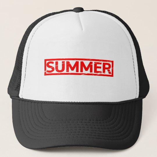 Summer Stamp Trucker Hat