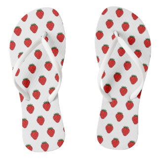 Summer Strawberry Flip Flops Sandals Gift