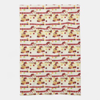 Summer Strawberry Sweet Treats Pattern Towel