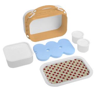 Summer Strawberry Swirl Pattern Lunchbox
