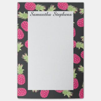 Summer Strawberry Tropical Pineapples Post-it Notes