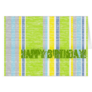 Summer Stripes Card