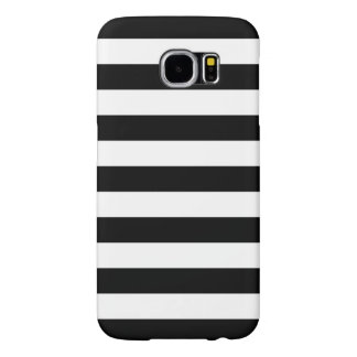 Summer Stripes Galaxy S6 Case in Black and White