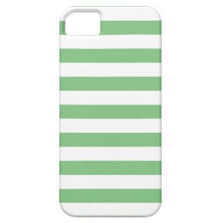 Summer Stripes Grass Green iPhone 5 Case