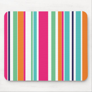 Summer Stripes Mouse Pad