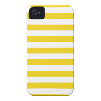 Summer Stripes Super Lemon Yellow Iphone 4/4S Case