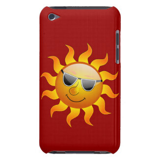 Summer Sun funny iPod Case Barely There iPod Case