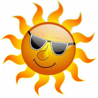 Summer Sun funny Photo Sculpture