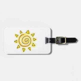 Summer Sun Luggage Tag
