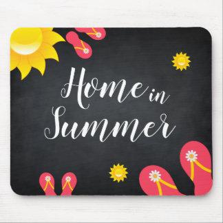 Summer Sun Sandals Flower Season Event Mouse Pad