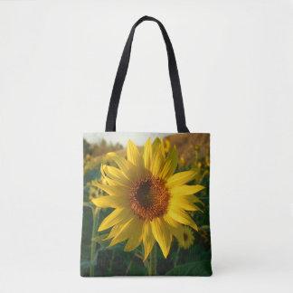Summer Sunflower Tote Bag