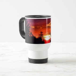 Summer Sunset 15 Oz Travel/Commuter Mug