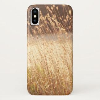 Summer Sunset Field Grass iPhone X Case