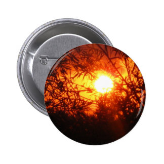 Summer sunset in Canberra 6 Cm Round Badge