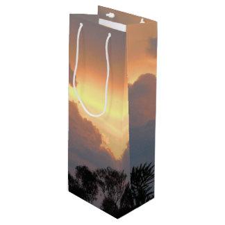Summer sunset in Canberra Wine Gift Bag