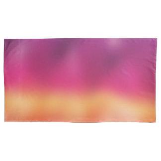 Summer Sunset Purple Orange Pillowcase