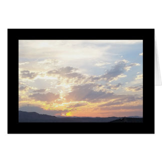 Summer Sunset- Song of Sol. 2:3 Greeting Card