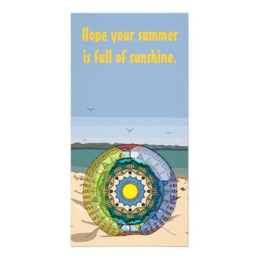Summer Sunshine Photo Card