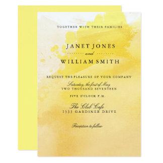 Summer Sunshine Wedding invitations