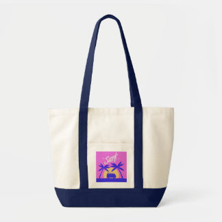 Summer Surf tote bags