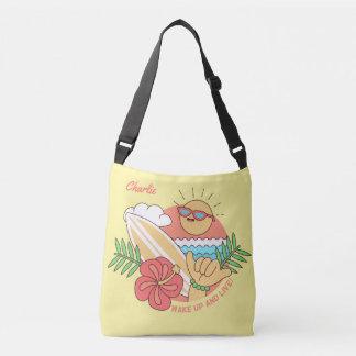 Summer Surfer custom name bags