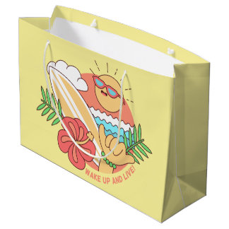 Summer Surfer large gift bag