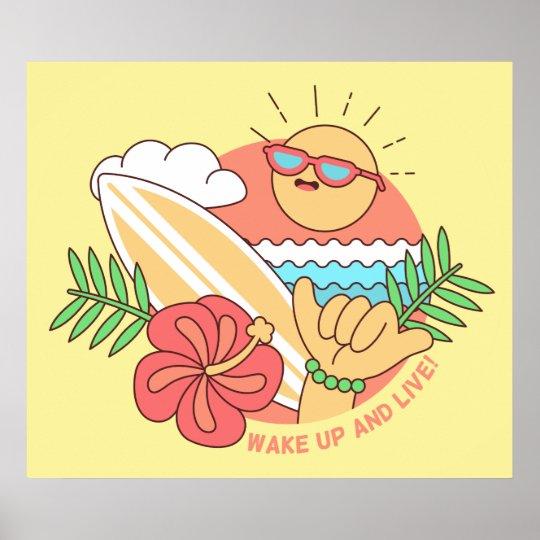 Summer Surfer poster