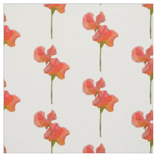 Summer Sweet Pea Fabric
