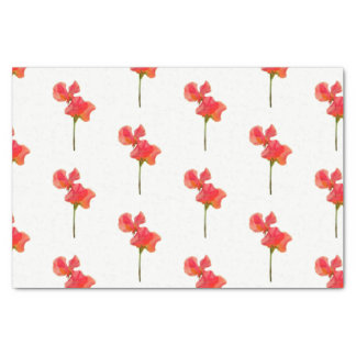 Summer Sweet Pea Tissue Paper